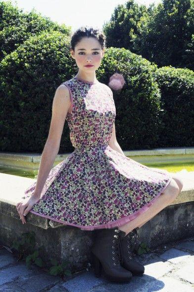 Jones and Jones Liberty Print Diana Dress Autumn Floral