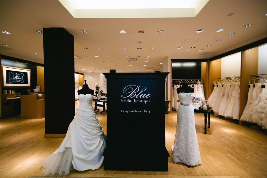Blue Bridal Boutique Bridal Boutique Bridal Shop Decor Bridal Dress Shops
