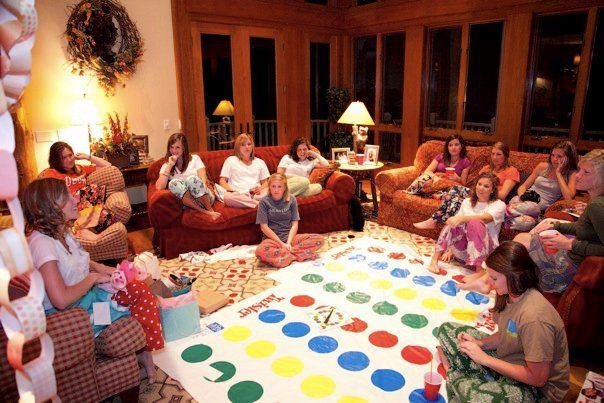 adult slumber party theme