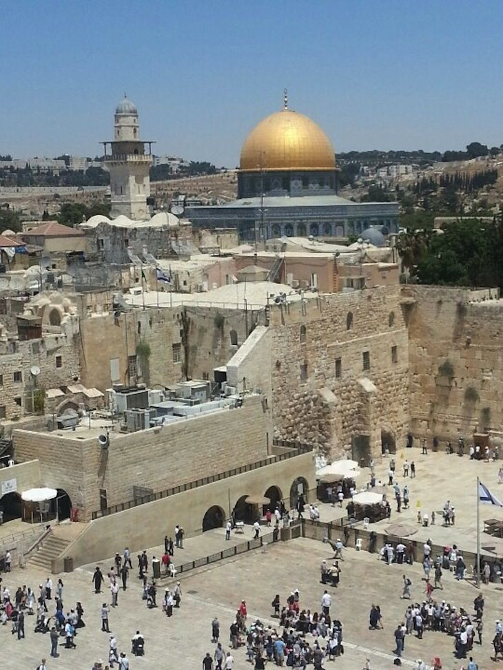 TOP UNESCO World Heritage Sites In The Middle East Jerusalem - Top three religions in the world