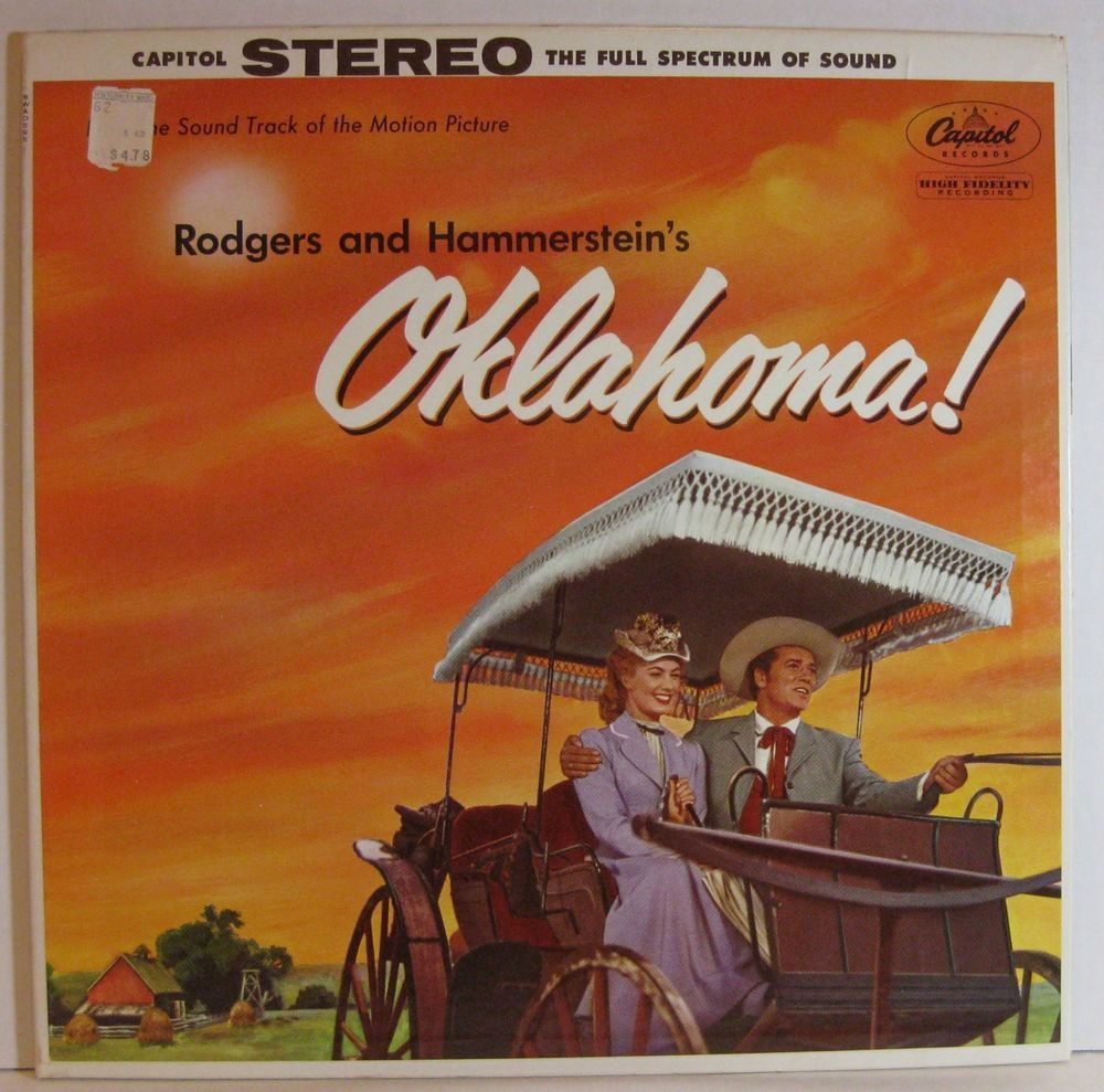 OKLAHOMA! Rodgers and Hammerstein SHIRLEY JONES