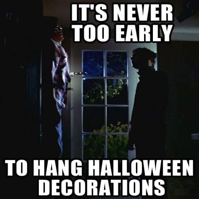 im just looking for that special girl one that wants me to bang her while im wearing a michael myers mask - Michael Myers Halloween Decorations