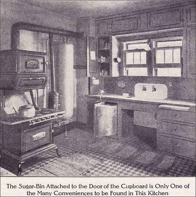 Bungalow Interior Design Kitchen: 1911 Kitchen With Boiler & Gas Range