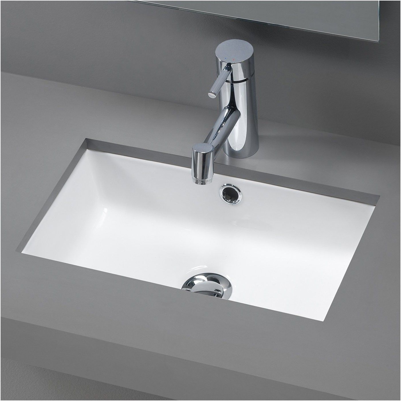 Small Rectangular Undermount Bathroom Sink Interior Rectangular