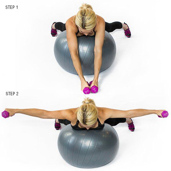 15 Stability Ball Moves For A Total Body Workout