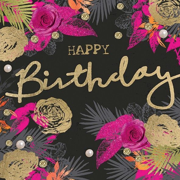 happy birthday quotes black and gold Google Search – Google Greetings for Birthday