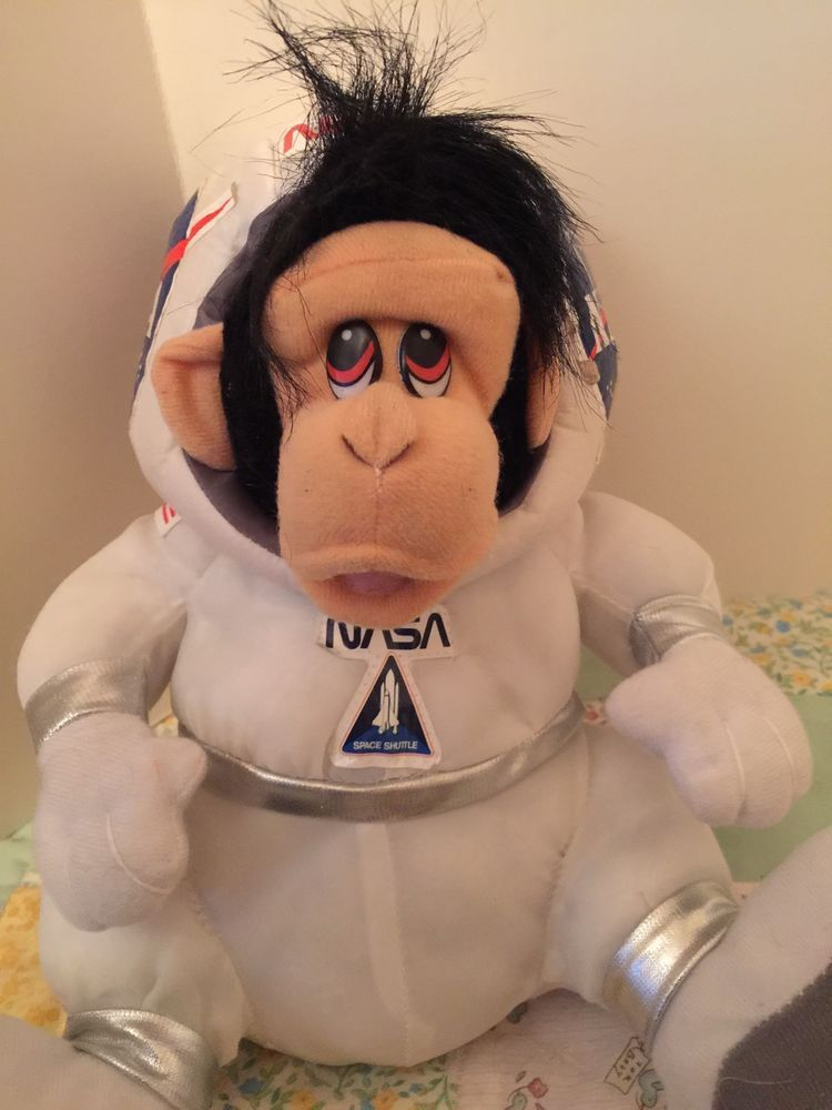 Nasa Space Shuttle Stuffed Monkey In Space Suit Stuffed Animal Plush