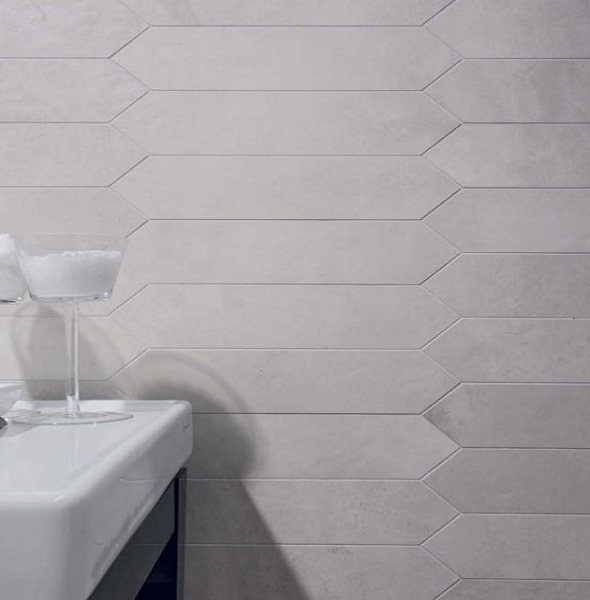 Trapezio Mod Picket Porcelain Tile Tile Backsplash Tiles Style Tile