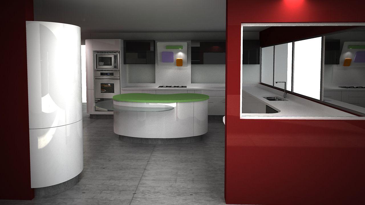 Cocinas integrales on pinterest modern kitchens for Cocinas integrales rusticas