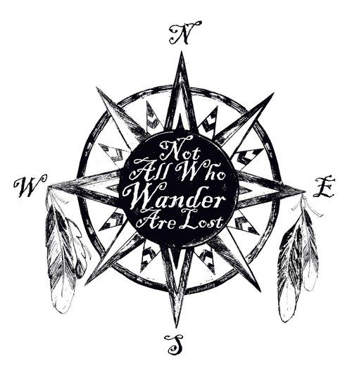 Not All Those Who Wander Are Lost Tattoo Men Pin By Skylar On Ink Lost Tattoo Hand Tattoos Shoulder Tattoo