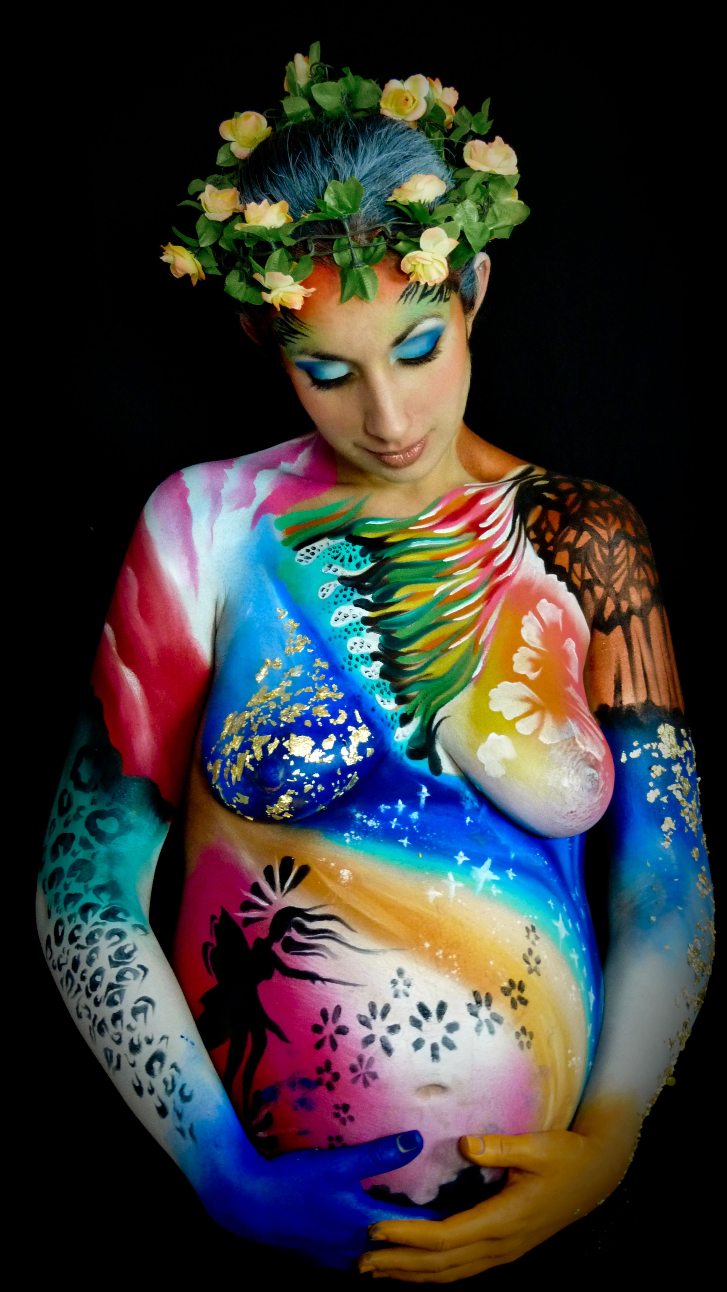 body painting body painting femme enceinte manon cormier body art pinterest body paint. Black Bedroom Furniture Sets. Home Design Ideas