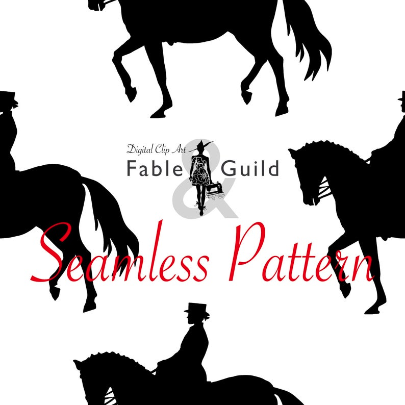 Equestrian Dressage Rider Clipart Digital Download Horse Etsy Clip Art Horse Etsy Dressage