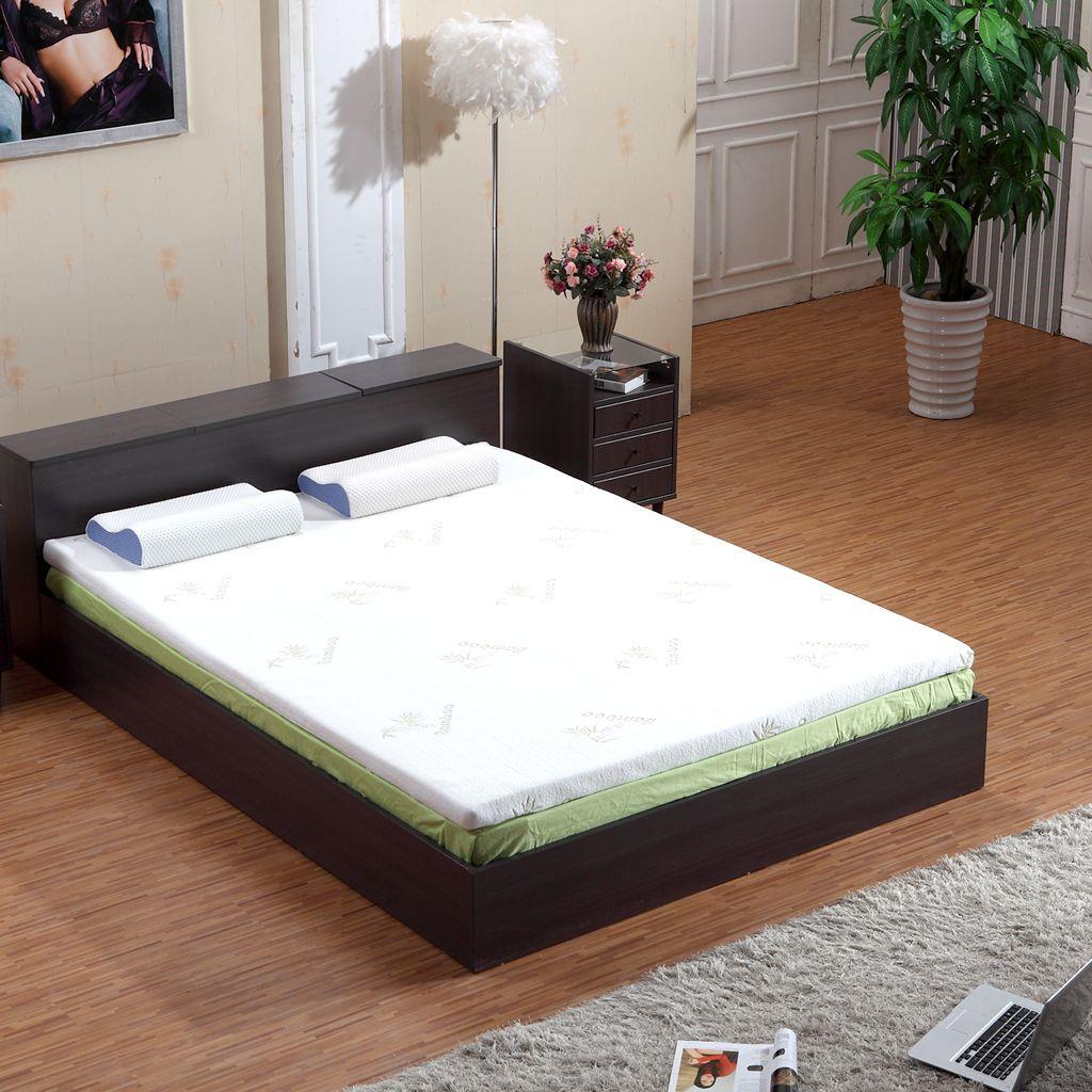 A Good Mattress Topper — Sleep Well Tonight Memory foam