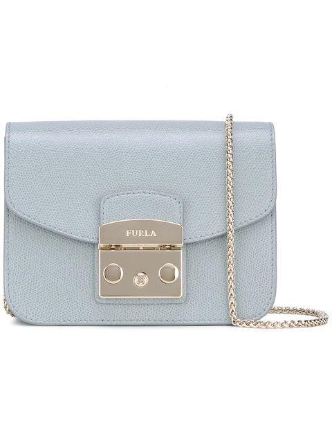 FURLA mini 'Metropolis' cross body bag. #furla #bags #leather #