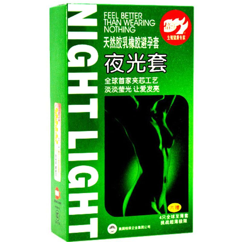 3 stks Lichtgevende Condooms + 4 stks Ultradunne Condooms, Fluorescentie Condoom, Noctilucent Condoom, Medische Thema Seksspeeltjes, Sex Producten