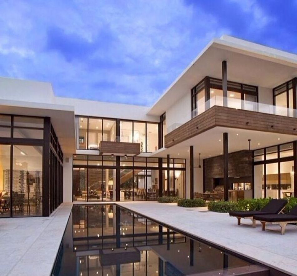 37 Stunning Contemporary House Exterior Design Ideas You Should Copy Searchome In 2020 Modern House Philippines Contemporary House Exterior Contemporary House Design