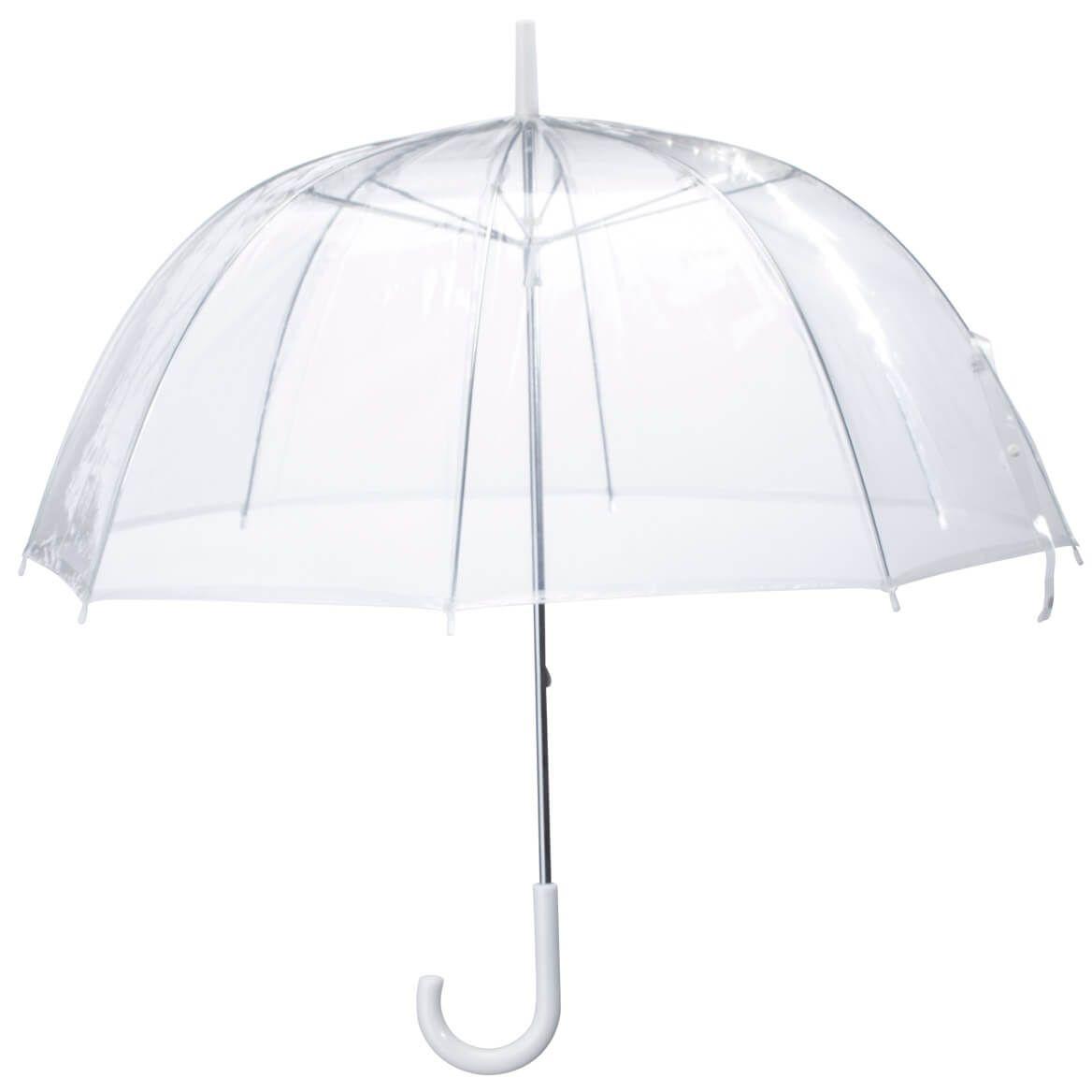 Women Clear Bubble Umbrella Waterproof Transparent Adults Rain Dome Canopy Totes