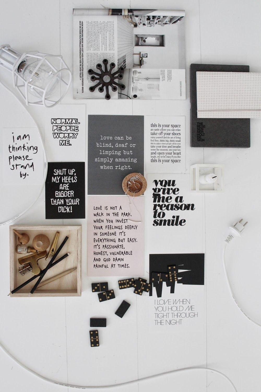 Moodboard | Design | 5 | Moodboard | Pinterest | Material