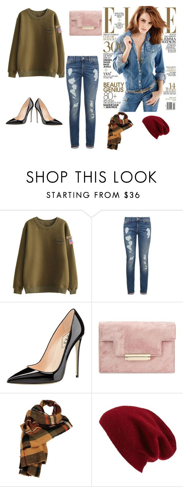 """""""Women's fashion"""" by room140701 ❤ liked on Polyvore featuring Tommy Hilfiger, Wilsons Leather and Halogen"""