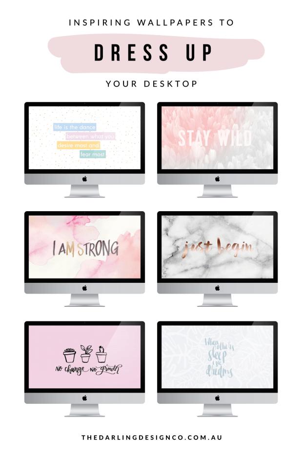 10 Inspiring Wallpapers To Dress Up Your Desktop Computer Screen Wallpaper Desktop Wallpaper Design Inspirational Desktop Wallpaper