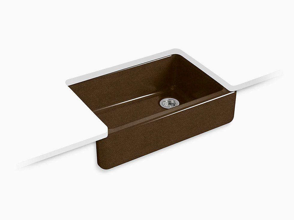 Kohler Whitehaven Self Trimming 33 Under Mount Single Bowl Sink