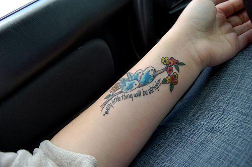 3 little birds tattoo annie 39 s blessed nest three little for Three little birds tattoo