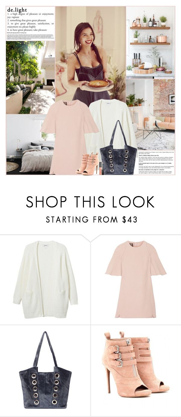 """""""de.light"""" by kittyfantastica ❤ liked on Polyvore featuring Crate and Barrel, Better Homes and Gardens, Monki, Giambattista Valli, Tabitha Simmons and Bobbi Brown Cosmetics"""