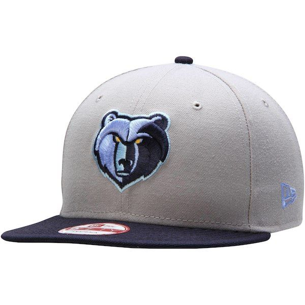 cheap for discount 0ab6a 0982f Memphis Grizzlies New Era Team 9FIFTY Snapback Adjustable Hat - Gray   MemphisGrizzlies