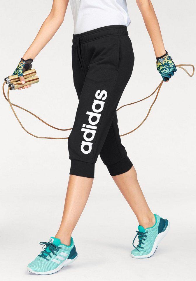 adidas Damen Essentials Linear 34 Hose