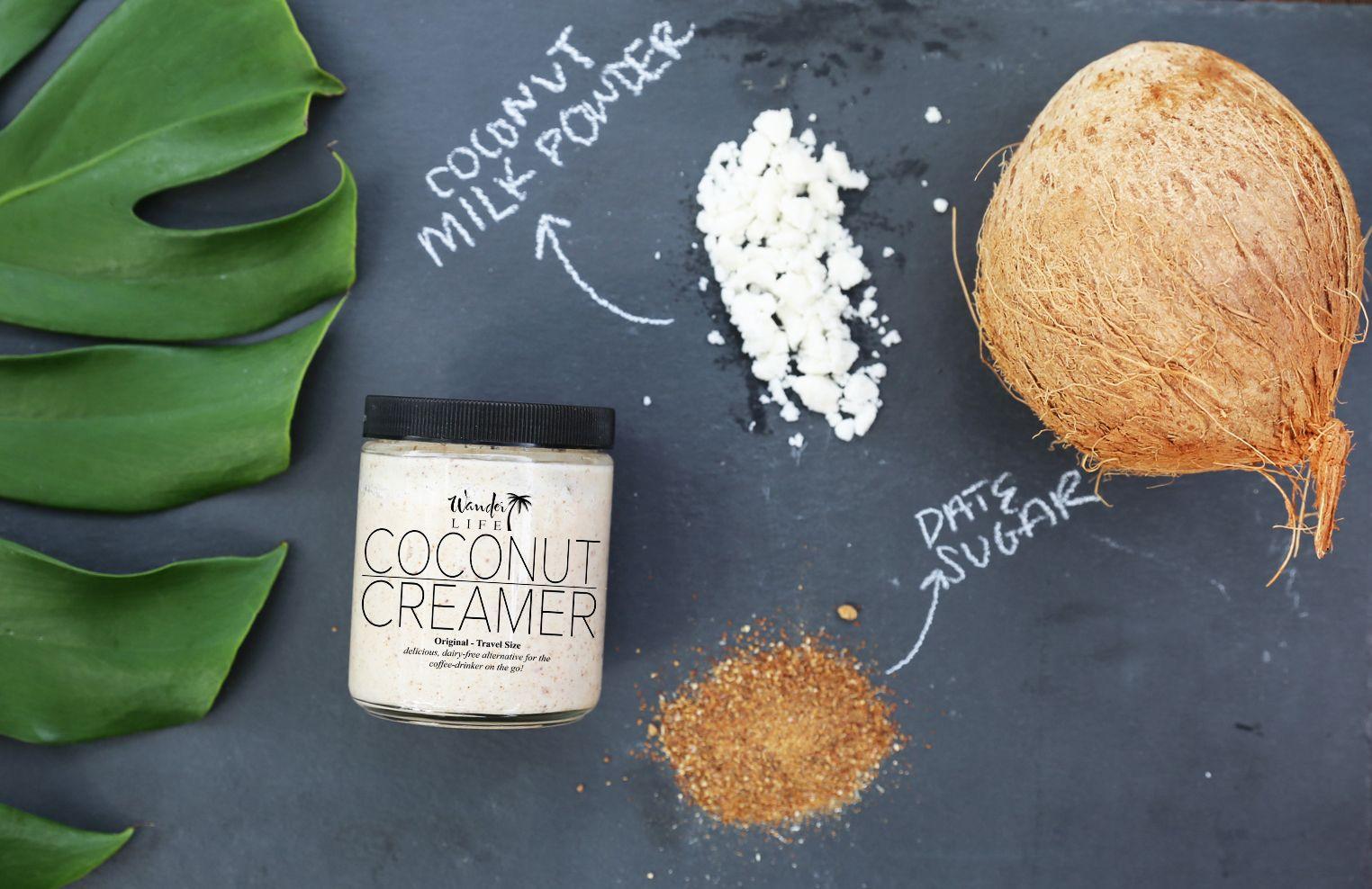 Purchase Creamer Here! Coconut creamer, Free food, Creamer