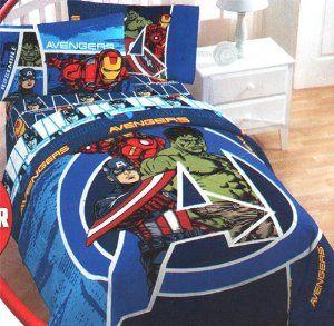Amazon Com Marvel Comics Avengers Assemble Full Bedding Set Home