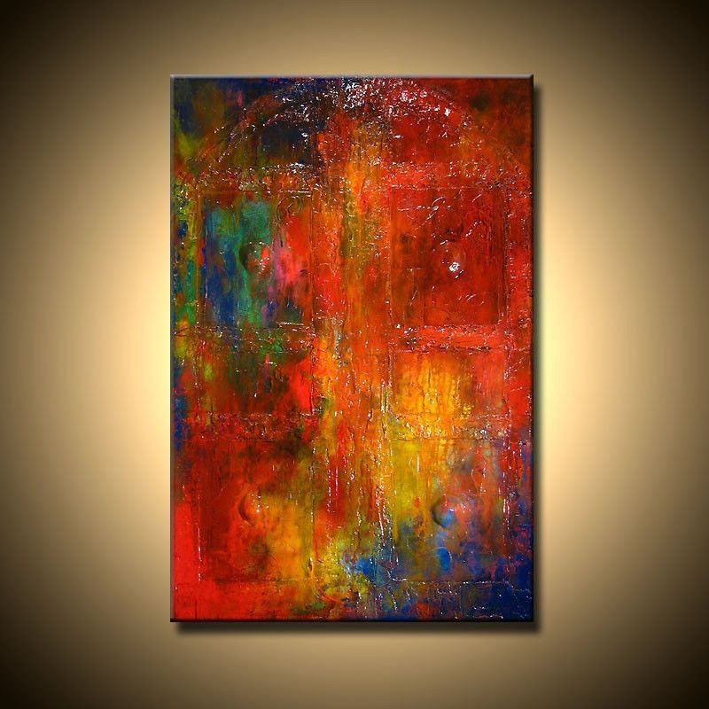 Abstract Oil Painting Impressionist