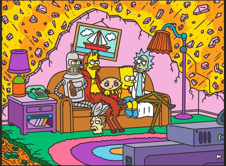 Bart Fucks Lisa Comic rick and morty, futurama, the simpsons & family guy | rick