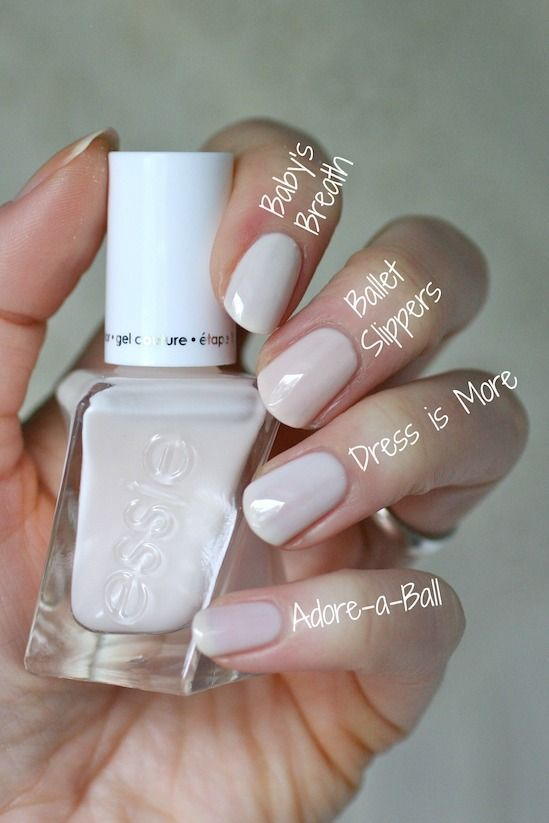 Essie Swatches & Comparisons | Essie Envy | Beauty {Nailed It ...