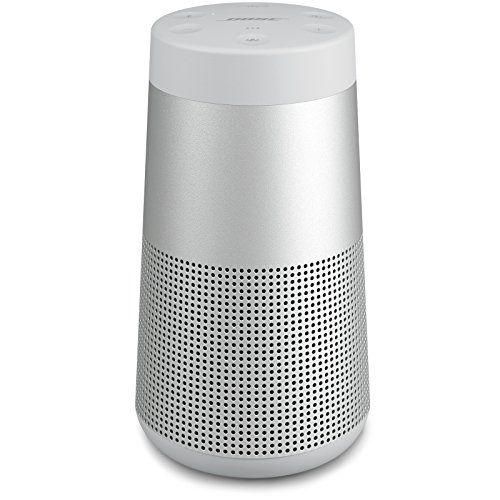 Bose Soundlink Revolve Portable Bluetooth Speaker With 360 Wireless Surround Sound Lu In 2020 Bluetooth Speaker Bluetooth Speakers Portable Wireless Surround Sound