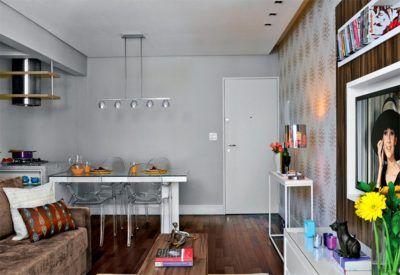 apartamentos pequenos e bem decorados