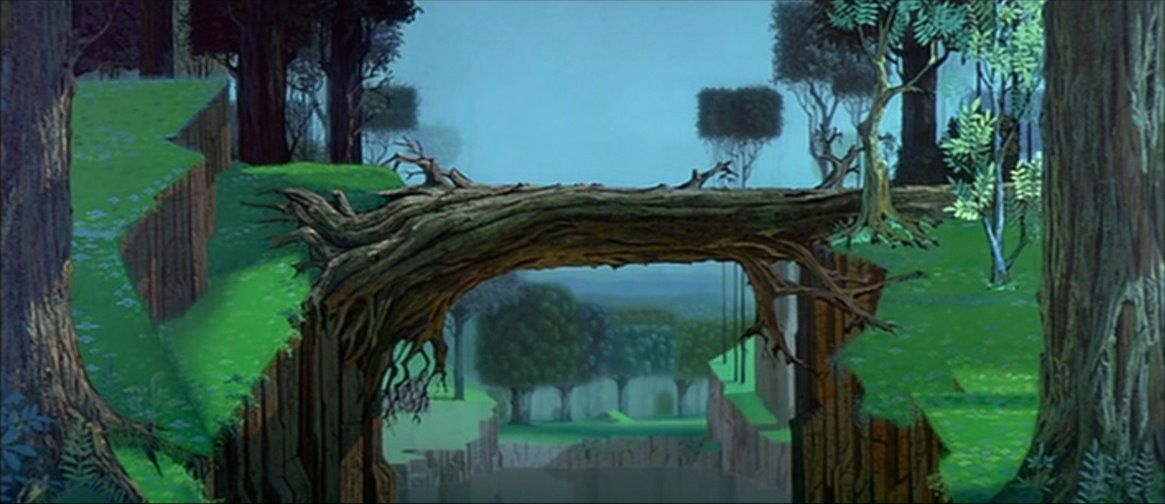 Animation Backgrounds: More From SLEEPING BEAUTY ...