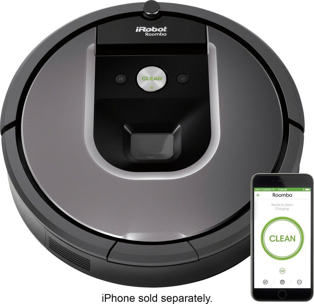 iRobot Roomba 960 AppControlled SelfCharging Robot