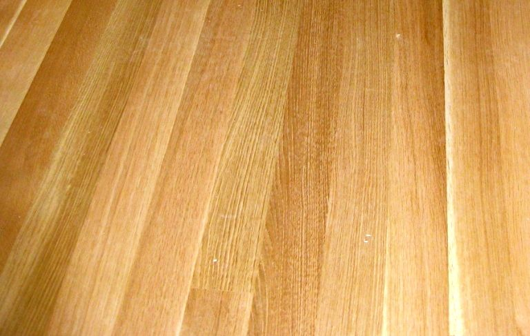 Close Up View Of The Grain Of Rift Sawn White Oak Wood