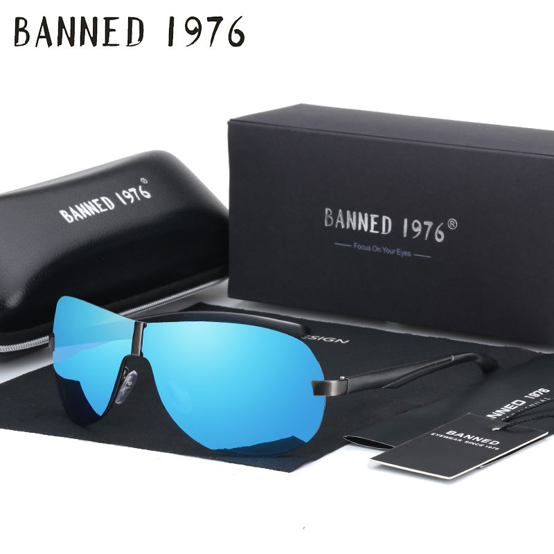 29a977db53d 2018 Spring hinges Brand Fashion HD Polarized Sunglasses cool Men s new  Designer Goggle Eyewear Sun glasses UV400 For Men B305 Review