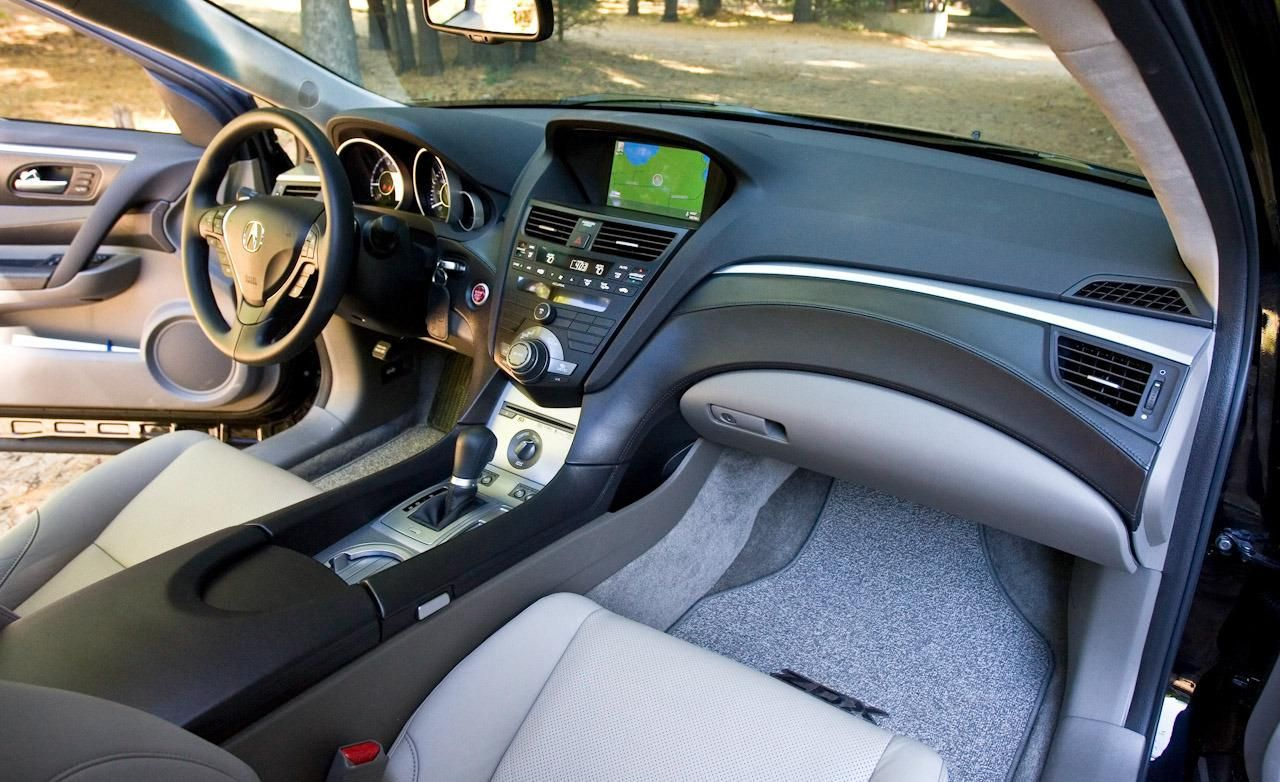 2010 Acura Zdx Dashboard Interior Wallpaper