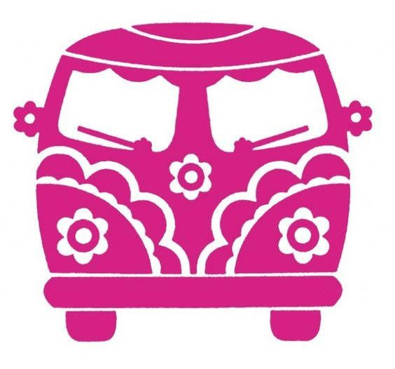 DIY Hippy Chick VW Van Vinyl Decal, Laptop, Tablet, Cell Phone, Car Window Decal, Stainless Steel Mug, Drinkware Decal, Canvas, Frame It is part of Silhouette portrait - Welcome to my Vinyl Shop where everything is coming up vinyl  This Hippy Chick VW Bus Vinyl Decal is VERY DELICATE, (in some areas) so keep that in mind when you think about where you are applying it  It wont hold up if handled a lot  My decals are machine cut out of high quality selfadhesive