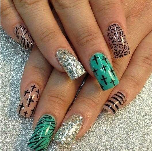 Nails Nail Obsession Pinterest Lady Nails Coffin Nails