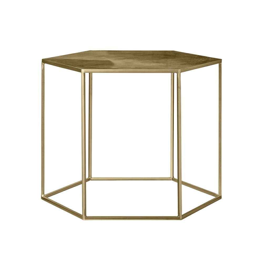 Buy Gold Coffee Table: Discover The Bloomingville Brushed Gold Coffee Table At