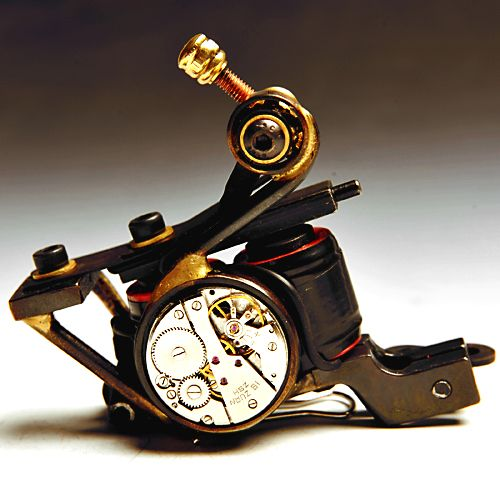 High Quality Hand-made Luo\'s Cast Iron Tattoo Machine | Handmade ...