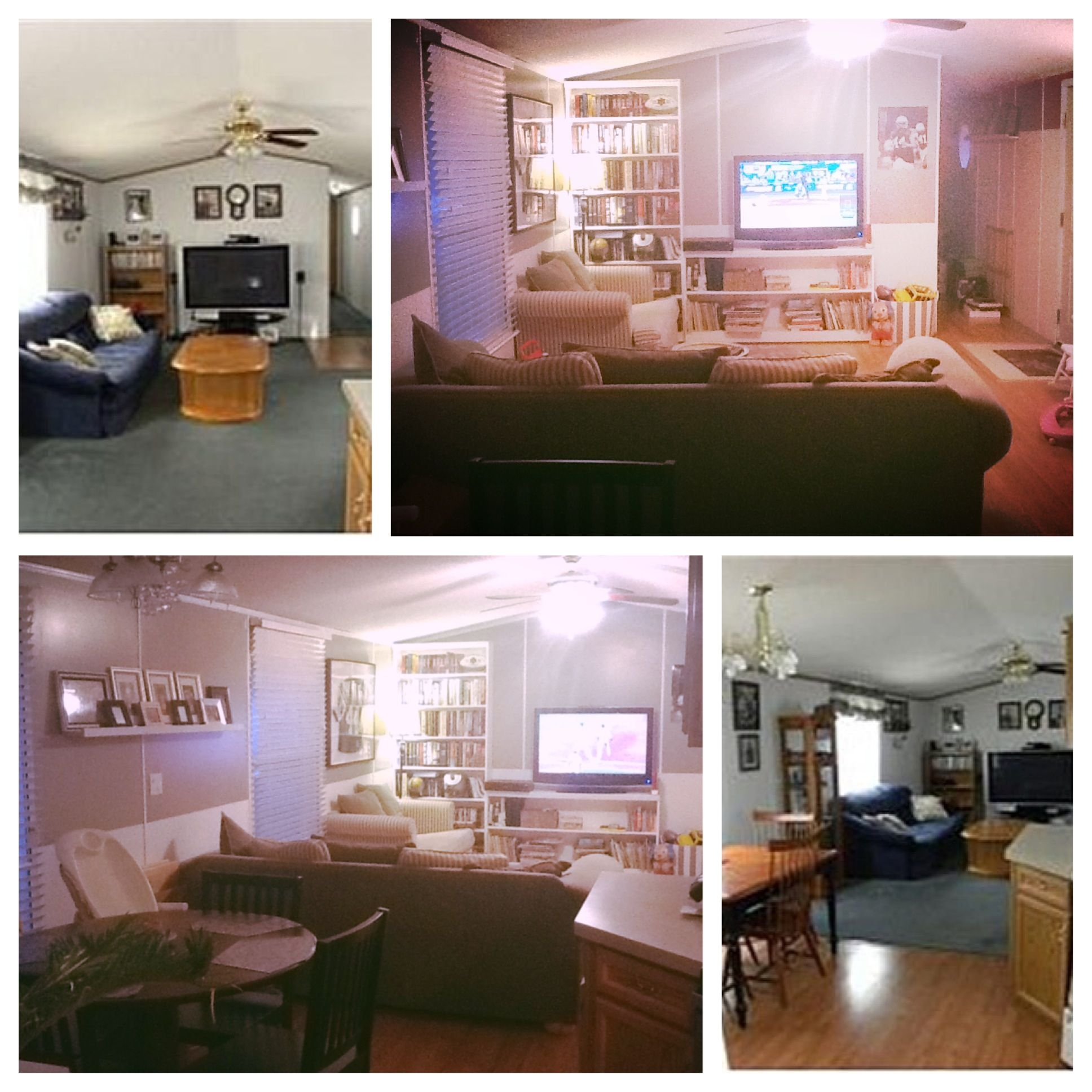 Home Makover: More Before And After Makeover Pictures Of Our Single Wide