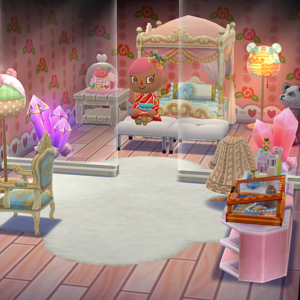 Best Teddy Crystal Bedroom Pocketcamp Animalcrossing With 640 x 480