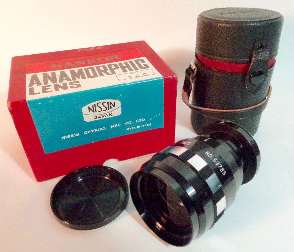 Details about SANKOR ANAMORPHIC 16C 16-C 16mm Cinema Lens