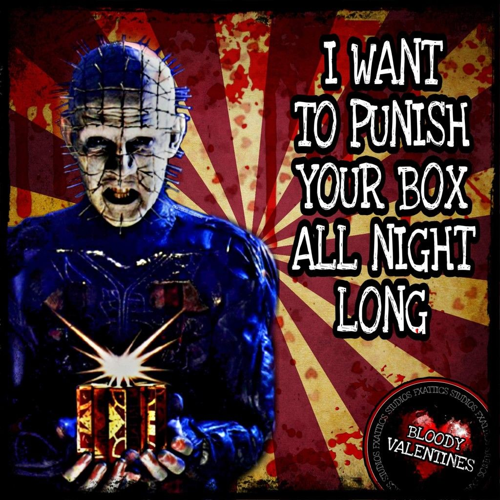 Pin By Lacey Wilson On Valentine S Day Horror Movies Memes Movie Memes Hellraiser