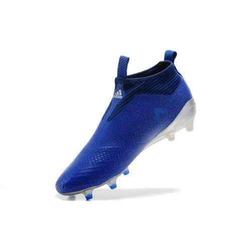 low priced 94062 c928f Botas de Fútbol Botas De Futbol Adidas Baratas Venda Comprar Barato 2017  Adidas ACE 17 PureControl Plata Azul Blanco Zapatos De Soccer .